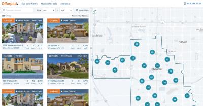 Offerpad - Home Listings UI (Web)